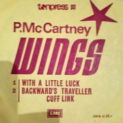 Record vinyl P.McCartney wlngs.