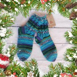 Woolen socks as a gift
