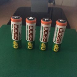 Батарейки АА аккумуляторы 2300 mAh