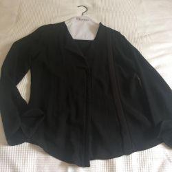 Blouse, jacket chiffon Zara, p.S / M exchange / sale