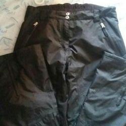 Pantaloni bolonevye de iarnă de sex feminin