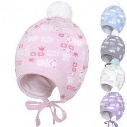 Demi-season hat for newborns 40-42. New