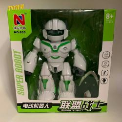 SUPER ROBOT toys luminous musical