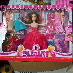 New doll with wardrobe
