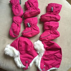 hat and mittens, mittens, leggings, thinsulate