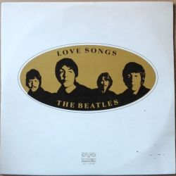 Vinyl Record Beatles Love Songs Dublu