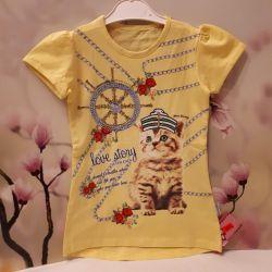 Туника детская футболка размер 110.116.122.новая