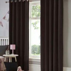 New velor curtains Wenge