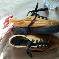 Velvet sneakers 38 sneakers