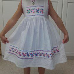 104-110 yükseklik için çok güzel elbiseler