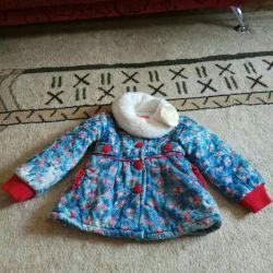 1-2 yıl sonbahar-ilkbahar için sıcak ceket