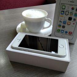 Apple iPhone 5S 32GB Silver.
