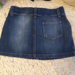 Denim skirt in perfect condition