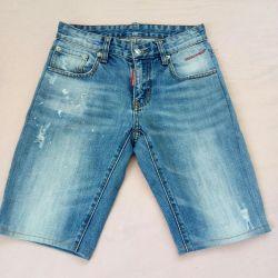 Denim shorts size: 40 - 42.