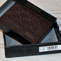 Ανδρικό πορτοφόλι Guess δερμάτινο
