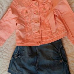 Fashion set for 3-4 years