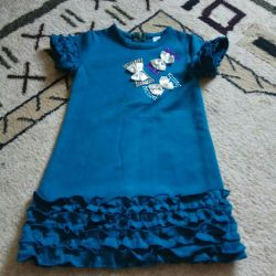 3-4 yıl için elbise