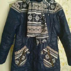 Kızlar için ceketi, demisezon yüksekliği 146