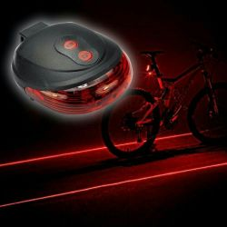 Lantern bicycle back and front