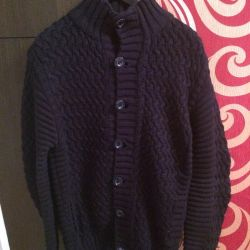 New knitted cardigan