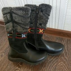 Boots new Dr. 30 Antilopa winter nat. leather, suede