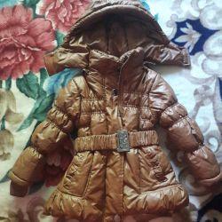 Ceket geç sonbahar / kış. Profile bak