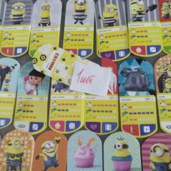 Cards (Despicable Me3)