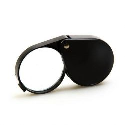 Folding magnifier Veber 1015, 5x, 60 mm, black