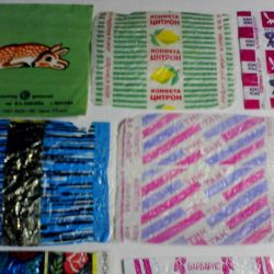 Candy wrappers from sweets. THE USSR. 12pcs