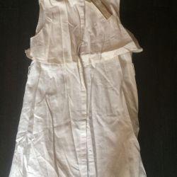 Платье лeн летнее размер 44-46