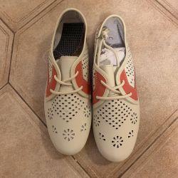 Kadın ayakkabısı. Gerçek deri. 37razmer