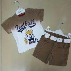 Costume. T-shirt shorts