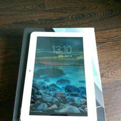 Used DNS AirTab MP1011 8GB white tablet