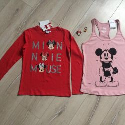Mike and Longsleeve with Mickey Mouse