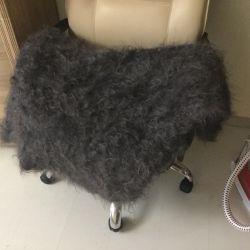 Scarf-kerchief Orenburg natural wool.