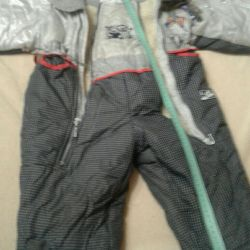 Overalls for the baby growth from the collar to the bottom 76cm