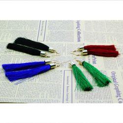 Νέα μπλε σκουλαρίκια