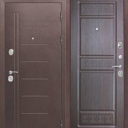 Ușă de intrare 10 cm Troy Ancient Wenge