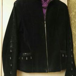 Куртка замша р.46