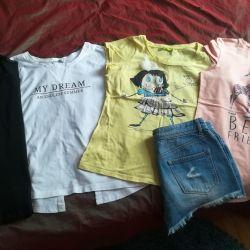 Πουκάμισα και μπλουζάκια