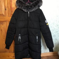 Down jacket for holofayber
