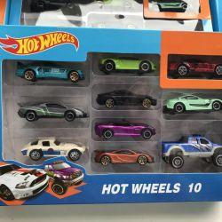 Hot Wheels 10'u 1 arada / Autocar