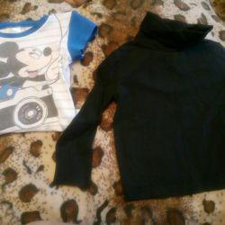 Turtleneck și tricou