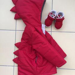 86 - 110 ebatta sonbahar için ceket ve yelekler