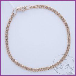 Gold bracelet 585 samples. Article A0314.
