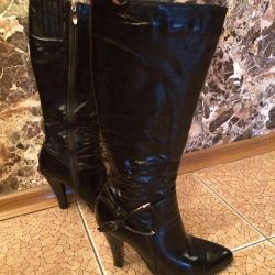 Leather boots 38.5