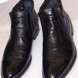 44 DinoRicci Leather Boots