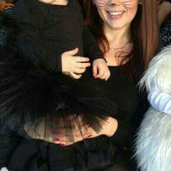 Family look. Halloween costume