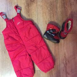 Winter semi-overalls Kanz 80cm