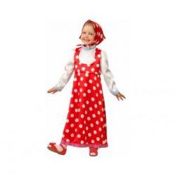 Kızlar için Rus halk kostümü